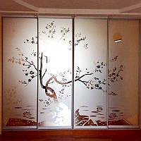 Шкаф для гостиной Японская Классика