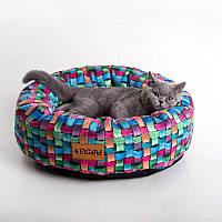 Cat 3D Wicky  - Хитрый (мягкий круглый лежак со съемной подушкой для кота)
