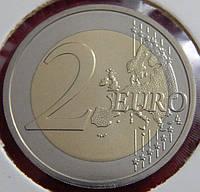 Монета Австрии 2 евро. 2007 год. Римский договор.