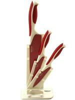 Острые керамические ножи в подставке HOFFNER 6923