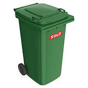 Мусорный контейнер марки SULO (728x582х1075 мм) на 240 л, зеленый