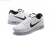 Кроссовки мужские Nike Air Мax 2017 White (найк аир макс) белые