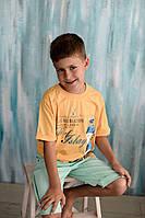 Футболка для мальчика жёлтая, Breeze (Hankur)