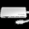 USB-хаб Promate SyncHub-C3 Silver (synchub-c3.silver)