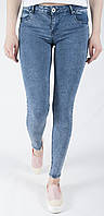 Женские джинсы молодежные зауженные RE-Dress 1065, стильные и молодежные, зауженные к низу, облегченные и удобные M