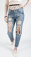 Женские рваные джинсы, реплика ARMANI JEANS.