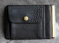 Зажим для денег из кожи Guk (21-06)