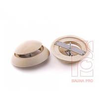 Заглушка вентиляционная липа (120 мм), Saunapro