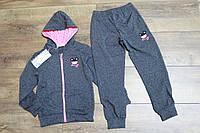Детский спортивный костюм для девочки на 3 , 4 , 5 , 6 , 7 лет