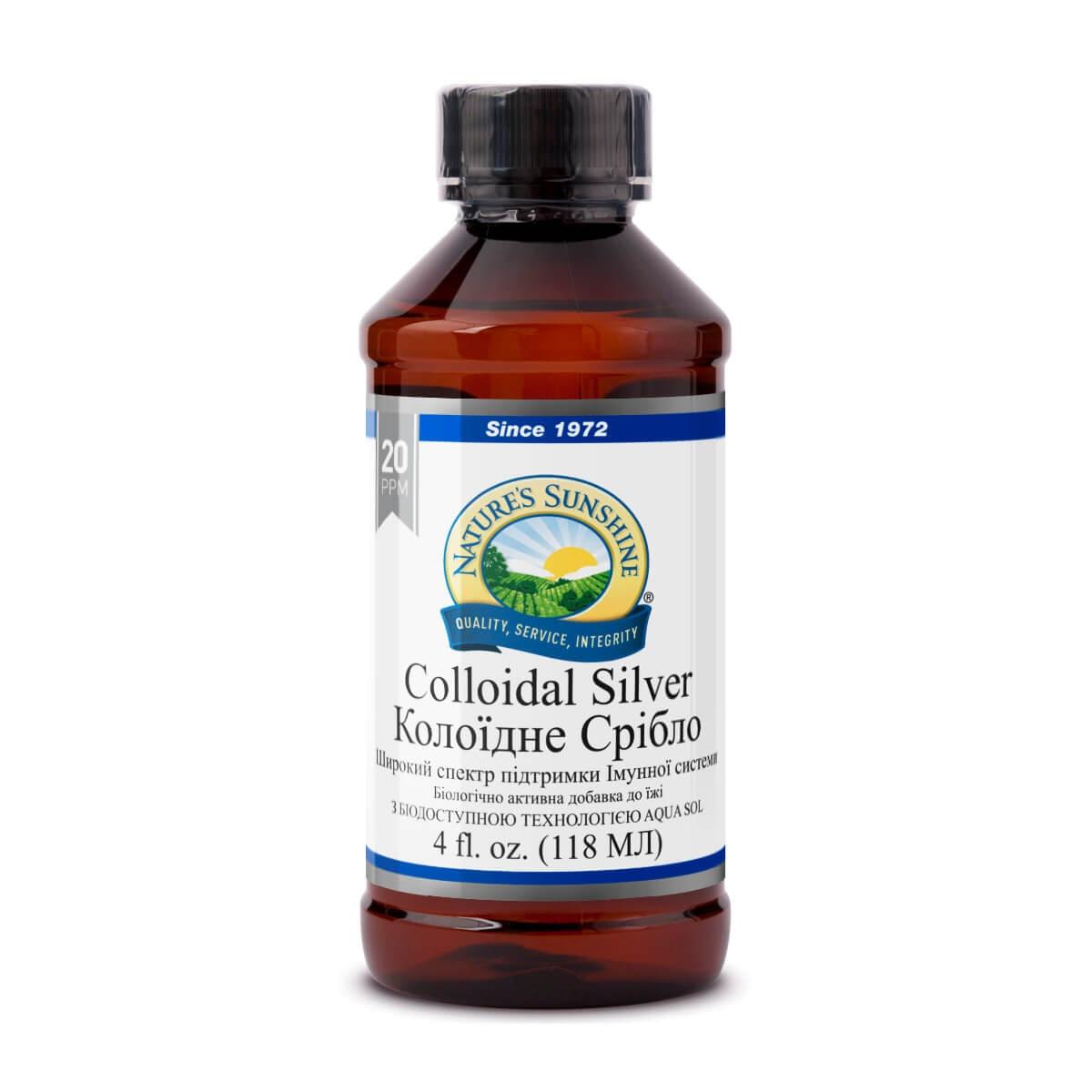 Натуральный  антибиотик от простуды Коллоидное серебро.