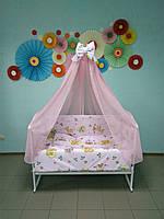 Детское постельное белье в кроватку 8 в 1