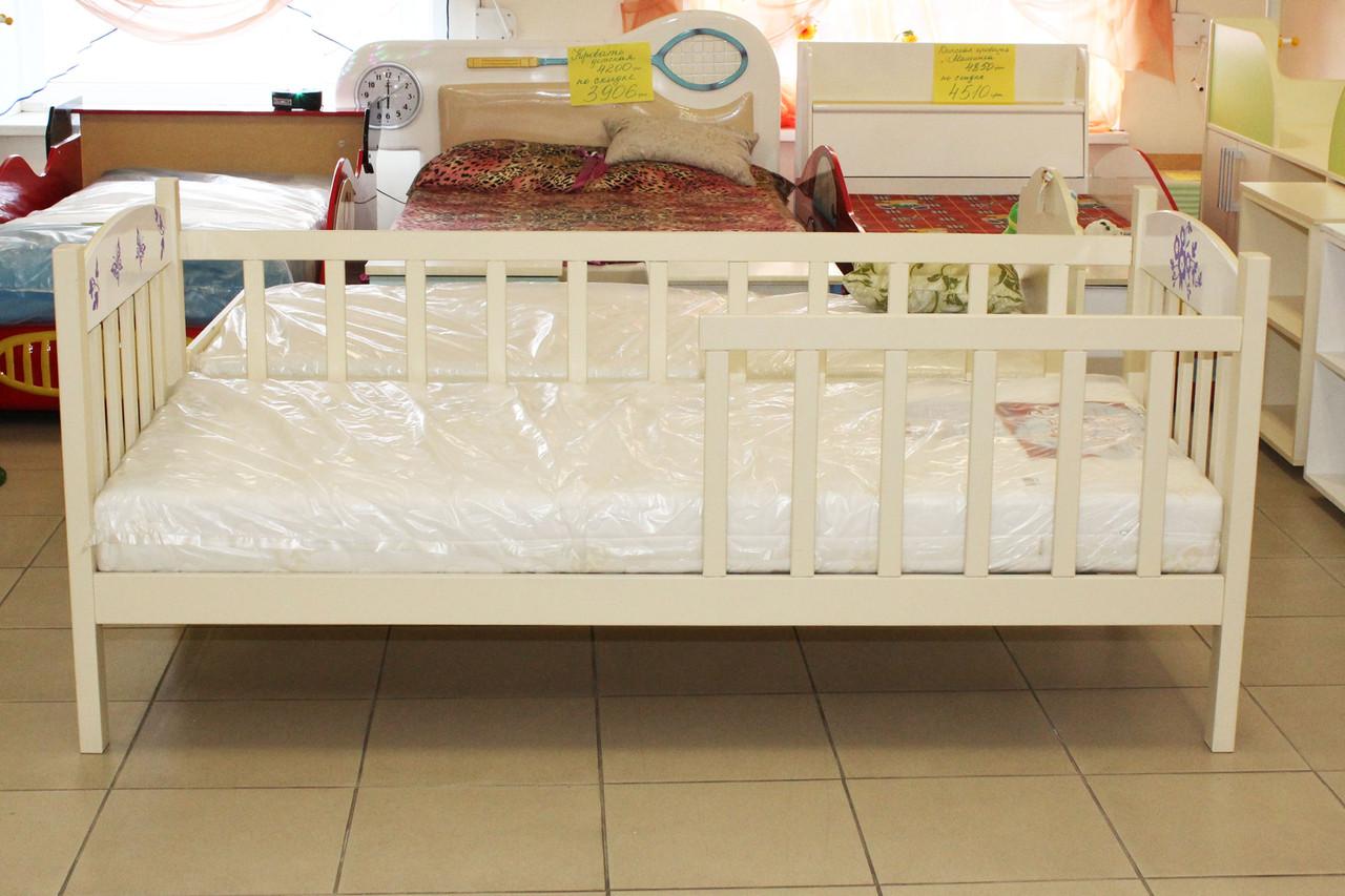 """Детская кровать """"Флави"""" из натурального дерева"""