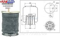 3229003900 Пневморессора со стаканом /пластик/ SAF 2626V