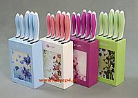 Набор кухонных керамических ножей в блоке набор из 5 эл. 6522