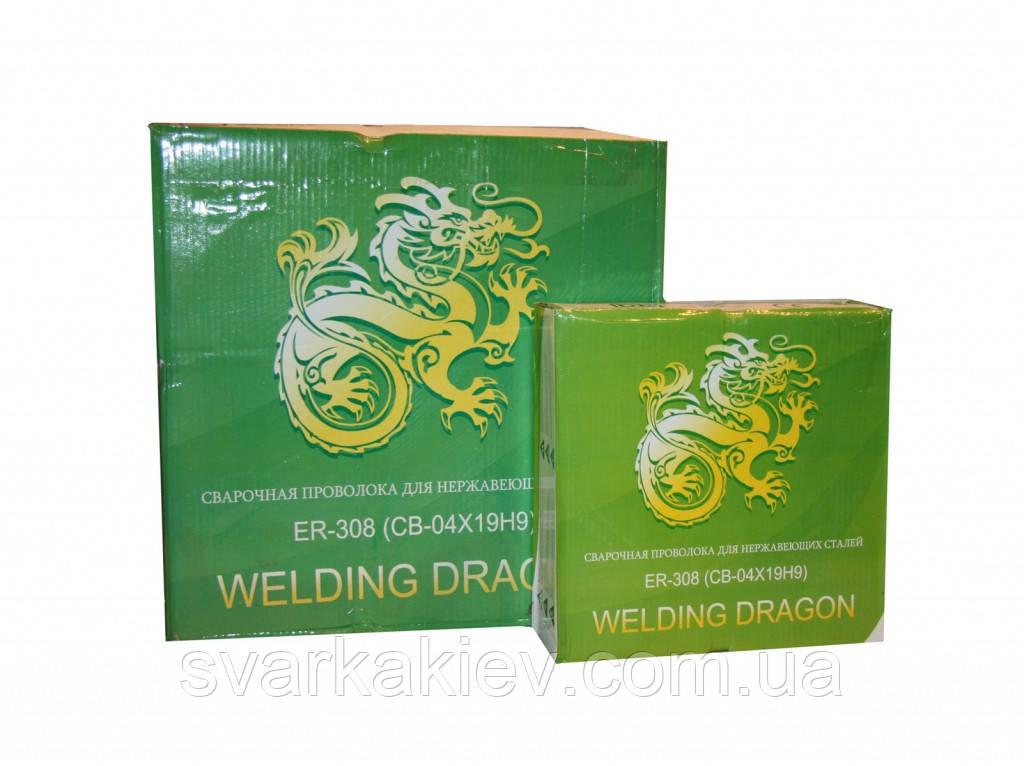 Сварочная проволока Welding Dragon ER308 1,2 мм (катушка 5кг)
