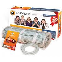 Тёплый пол электрический Теплолюкс двужильный мат МНН-600-3,00