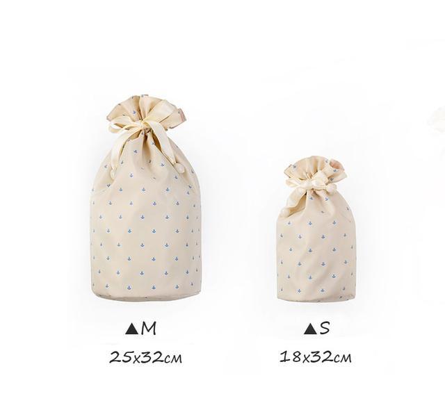 Размеры мешочков на завязках