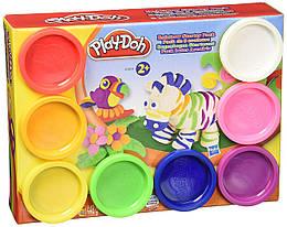 Набор пластилина 8 баночек Play-Doh Hasbro