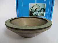 125мм. Алмазный шлифовальный круг. 12А2-45 Чашка. 125х10х3х40х32