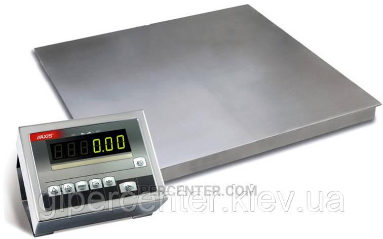 Платформенные весы 4BDU600-1215 элит 1250х1500 мм (до 600 кг), фото 2