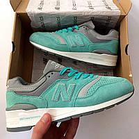 Бирюзовые женские кроссовки нью баланс, New Balance 997