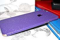 """Виниловая наклейка """"Фиолетовая алмазная крошка"""" Iphone 6 PLUS / 6S PLUS (0,11 mm)"""
