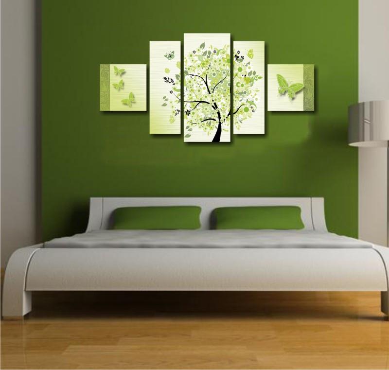 """Модульная картина """"Весеннее дерево"""""""