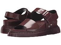 Стильні чоловічі босоніжки сандалі Dr. Martens Romi Y Strap Oxblood/Petrol Fashion Sandals 43р.