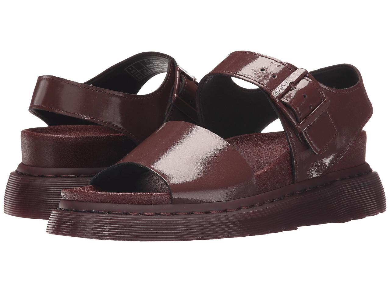 Стильні чоловічі босоніжки сандалі Dr. Martens Romi Y Strap Oxblood/Petrol Fashion Sandals 43р., фото 1