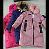Зимняя подростковая удленённая куртка для девочек GRACE ОПТОМ