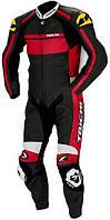 Мотокомбинезон RS TAICHI GP-X S208 кожа черный красный 3XL/58