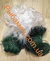 Рыболовная сеть одностенная для промышленного лова (груз дробинка) 1.8х100м ячея 60
