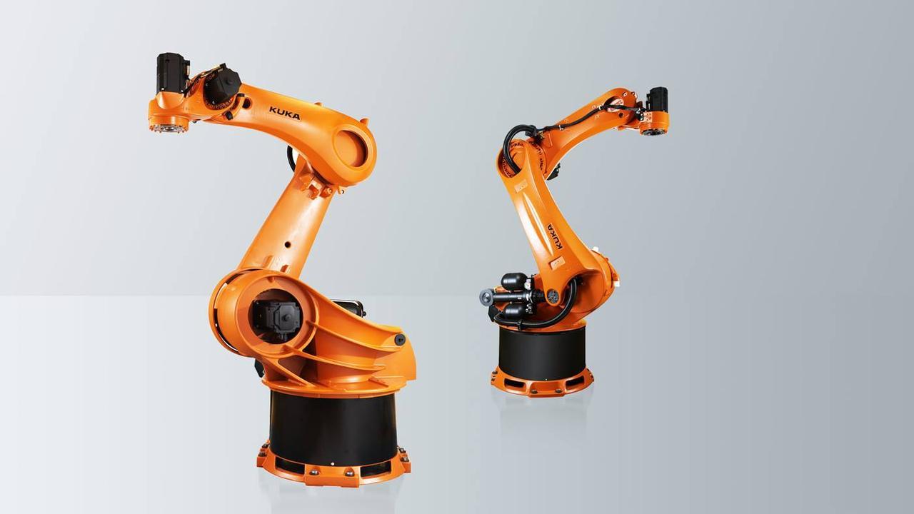 Робот-паллетоукладчик KUKA KR 300-2 PA