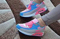 Яркие кроссовки в стиле Air