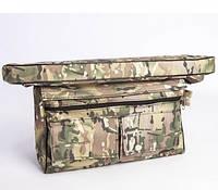 Мягкое сидение + сумка рундук Шторм 710х200х50 (камуфляж)