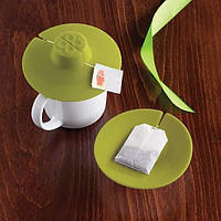 Силиконовая крышка для чашки tea bag buddy