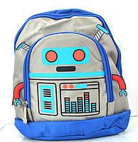 Детский рюкзачок для дошкольников, робот