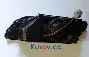 Противотуманная фара (ПТФ) Daewoo Nexia 95-08 правая (FPS) рифленое стекло, серая рамка 96175354D, фото 2