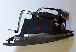 Противотуманная фара (ПТФ) Daewoo Nexia 95-08 левая (FPS) рифленое стекло, серая рамка, фото 2