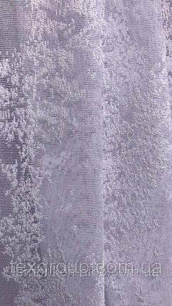 Тюль жаккард белая снег JANSEN, фото 2
