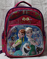 Ранец Рюкзак школьный ортопедический Холодное серце Frozen  17-7812-1