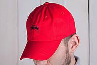 Бейсболка мужская Stussy стаси кепка красная