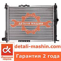 Радиатор охлаждения Ланос (без кондиционера) алюминиевый ДК
