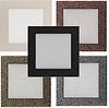 Вентиляційна решітка для каміна бежева, чорна, графітова, срібний, мідний, золотий 17х17 см