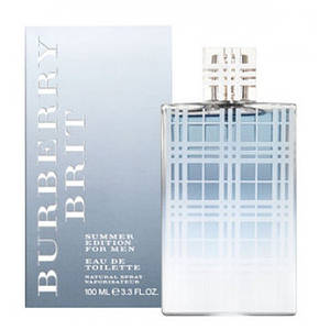 Burberry Brit Summer for Men туалетная вода 100 ml. (Барбери Брит Саммер Фор Мен)