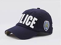 Бейсболка Police (Полиция), Унисекс Синий