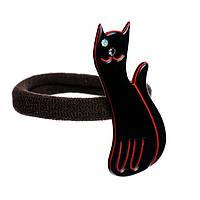 "Резинка для волос KOSMART ""Lovely cat"" с кристаллом Swarovski LT52X32TARB"
