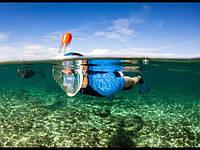 Фронтальная маска для подводного плавания Easybreath Easybreath Snorkeling Mask