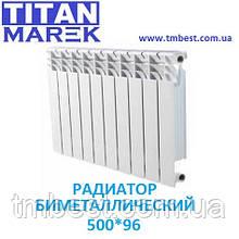 Радиатор биметаллический TITAN 500*96 Польша
