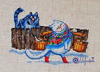 Набор для вышивки крестиком К-30 Моя рыбонька!, фото 1